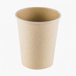 Vasos de Cartón Kraft  (50uds)