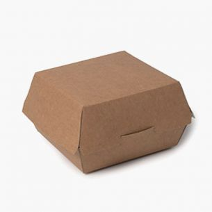 Envase Hamburguesas Cartón...