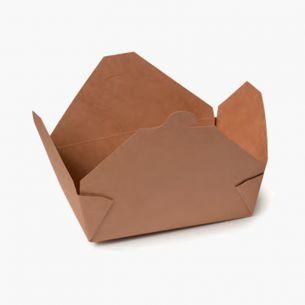 Envase Cartón Kraft (25 Uds)