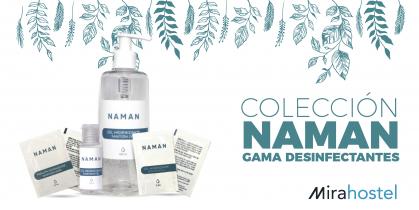 Conoce los desinfectantes de NAMAN