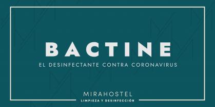 Bactine, el desinfectante contra coronavirus